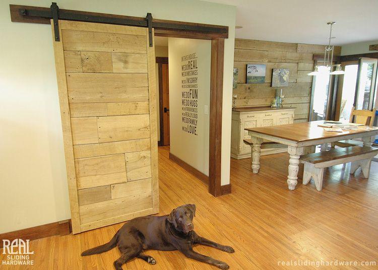 Sliding Barn Doors. Installing Interior Barn Door Hardware Can ...
