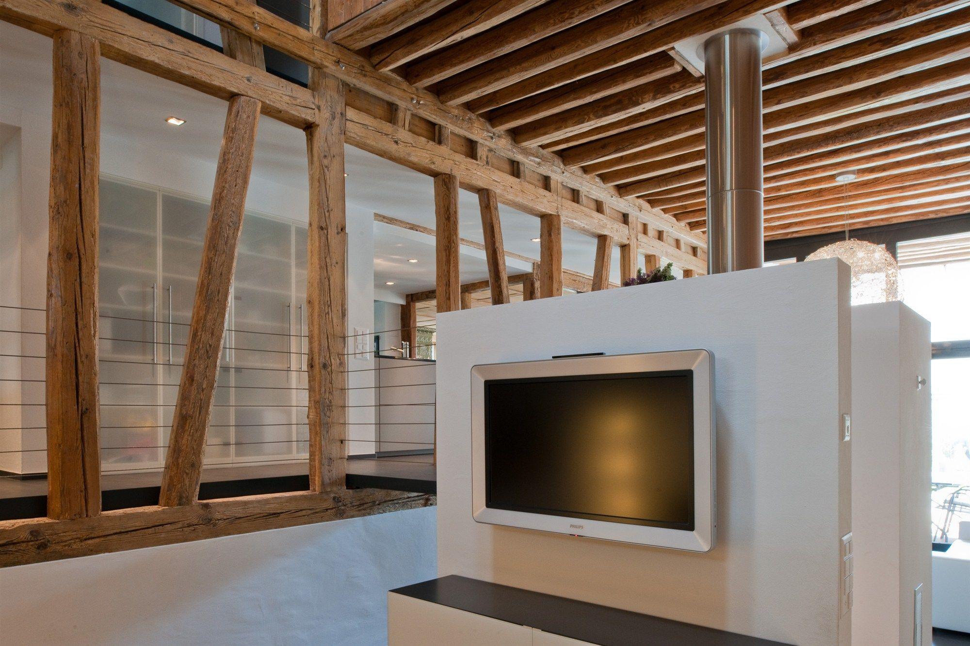 bauernhaus modern umbauen wohn design. Black Bedroom Furniture Sets. Home Design Ideas