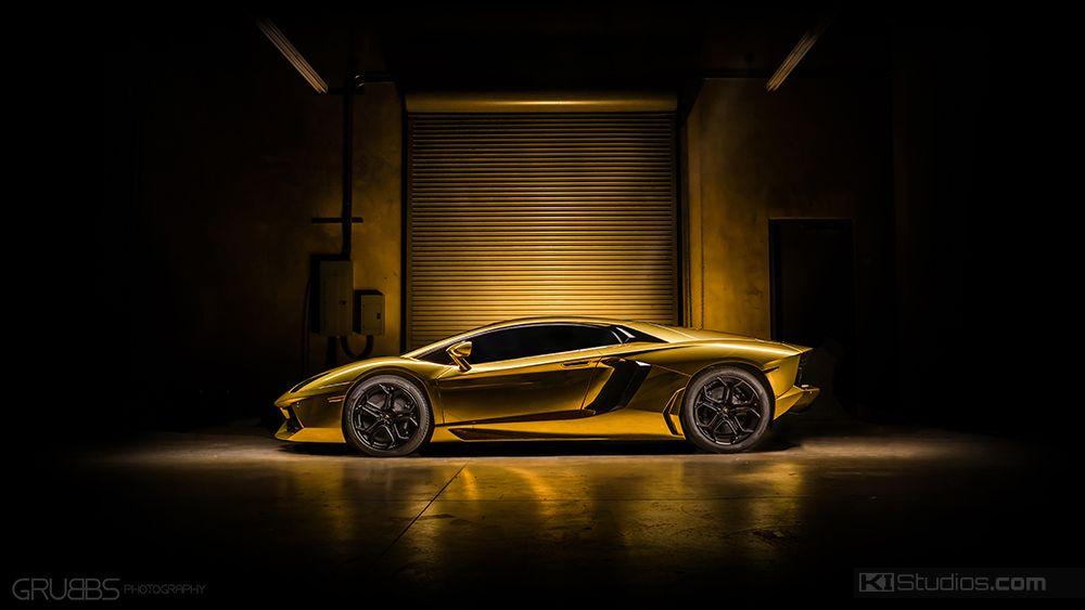 Aventador Wrap Gold Chrome Aventador Rallyways Lamborghini