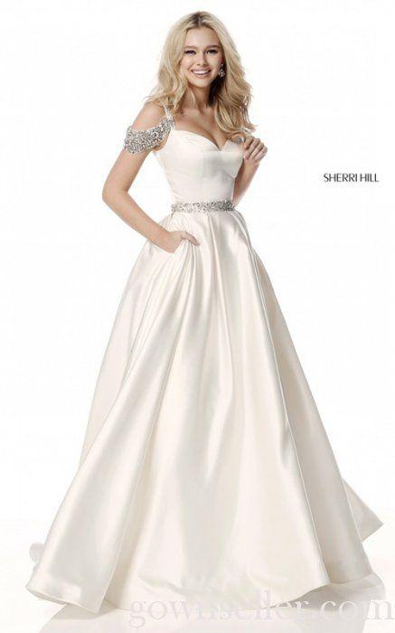Sherri Hill 51613 Ivory Full Figured Prom Dress | Dresses ...