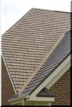Love The Look Of Wood Shakes Choose A Brown Metal Roof Like This Instead Metal Roofs Use Recycled Material An Dream House Exterior Metal Roof House Exterior