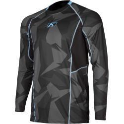 Photo of Klim Aggressor Cool Shirt -1.0 Long Sleeve Gray Xl Klim