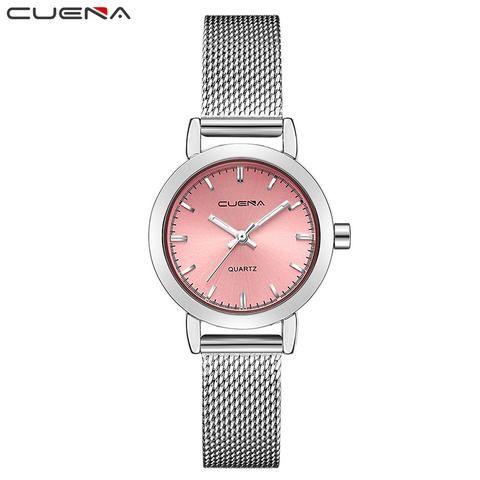 3a9121cdd4e CUENA Watches Women Quartz Waterproof Ladys Watch for Woman Luxury Casual  Wristwatches Girl Relogio Feminino Montre