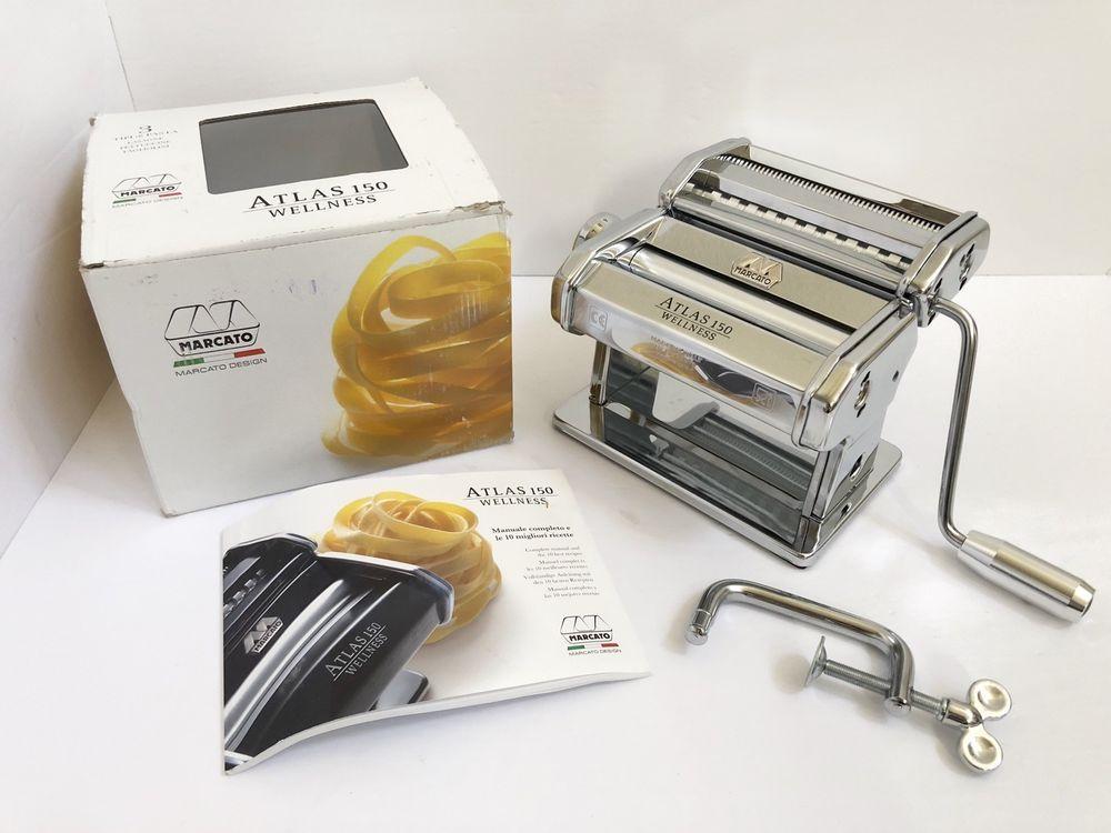 Details about MARCATO Atlas 150 Noodle Pasta Maker Machine