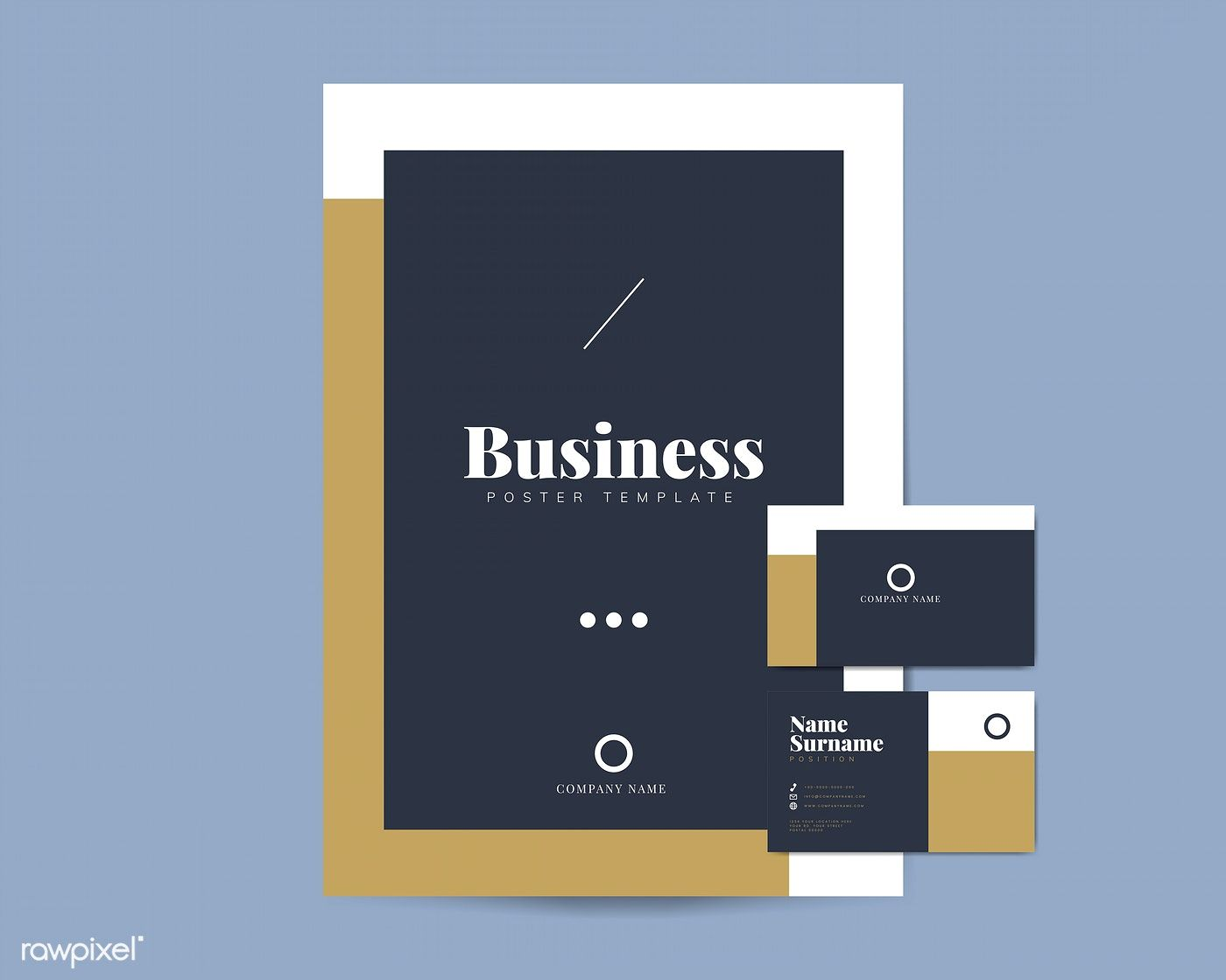 Corporate Flyer And Name Card Template Vectors Free Image By Rawpixel Com Tvz Free Business Card Templates Corporate Invitation Corporate Invitation Design