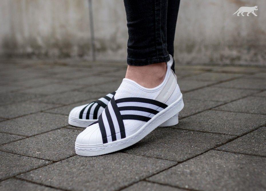 e18068d171 adidas x White Mountaineering Superstar Slip On PK (Ftwr White   Core Black    Ftwr White)