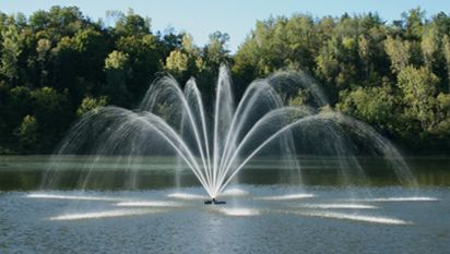 Our Company Provides Automatic Sprinkler System Services For Improve Your Garden And Lawn Area In Nashua And O Pond Fountains Pond Aerator Small Water Fountain