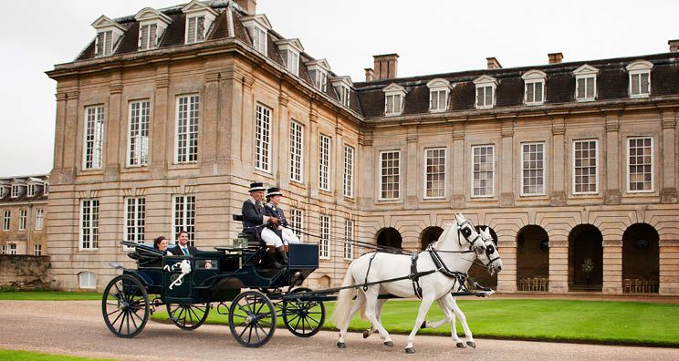 The Perfect Northamptonshire Wedding Venue A Stately Home With Striking Marquee Location Outdoor Ceremonies In Colonnade Of