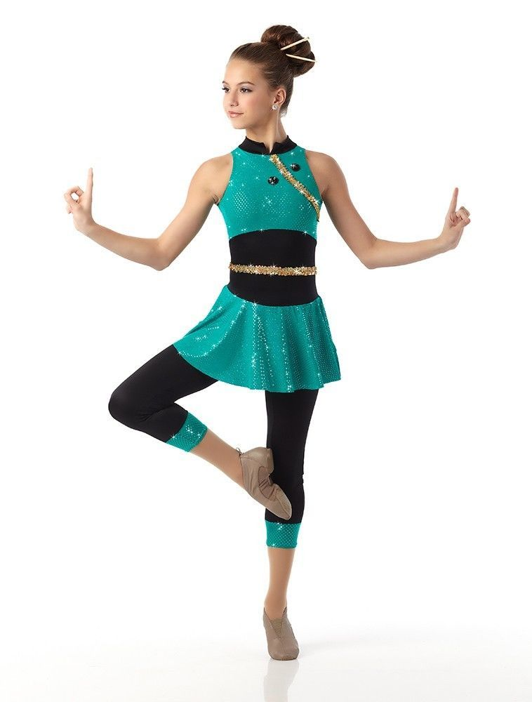 3b05f8563ef9 Chopsticks Dance Costume Capri Unitard Geisha Tap Ballet Clearance ...