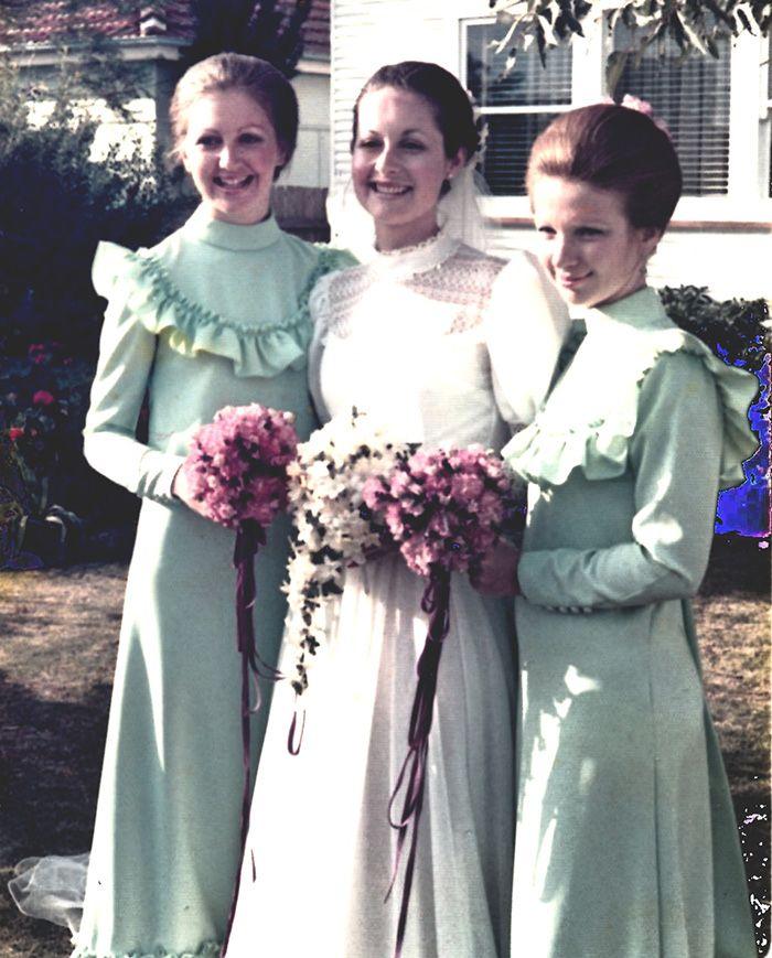 Vintage Wedding Dresses Perth: 1970s Bridesmaid Dresses - Google Search