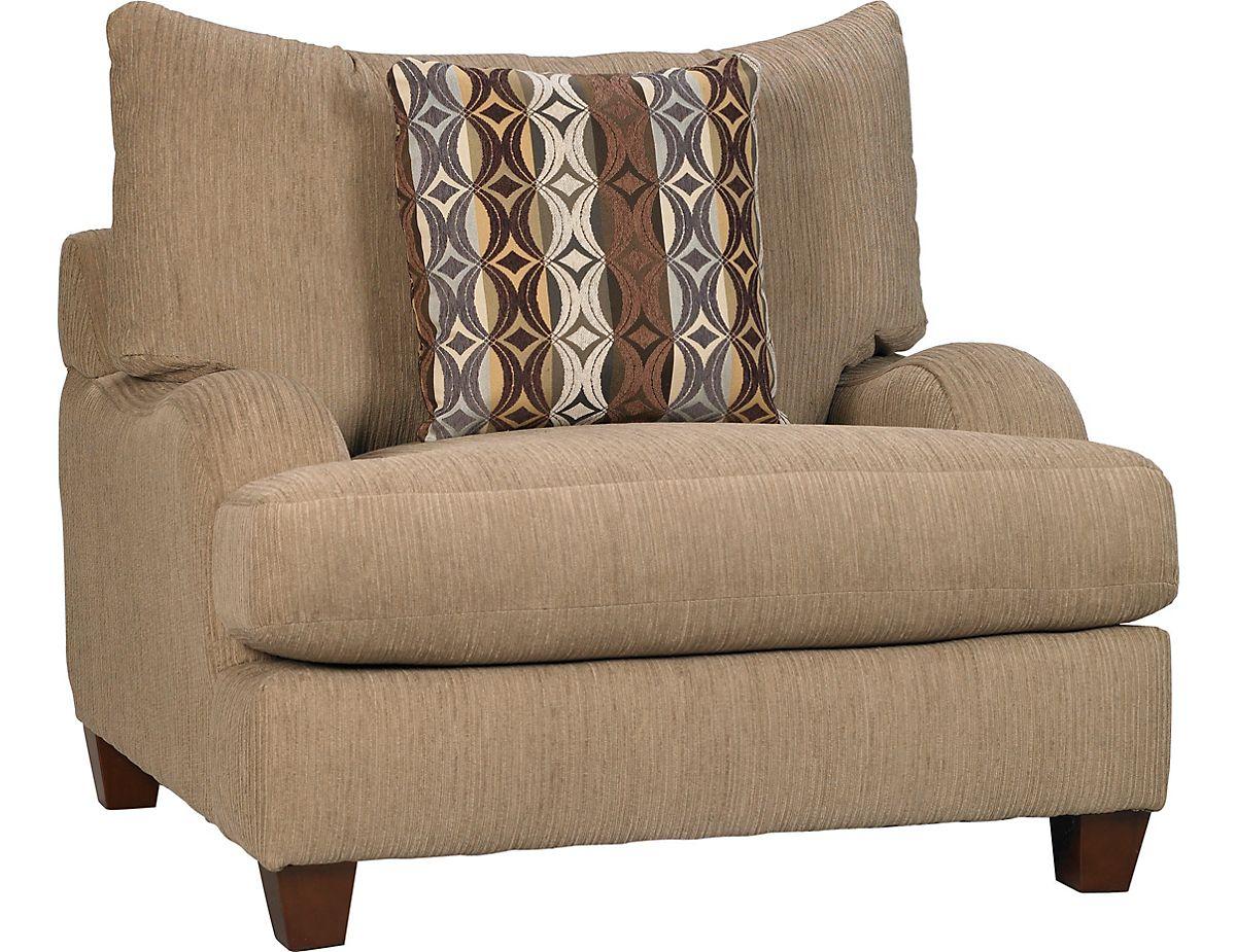 Putty Chenille Chair