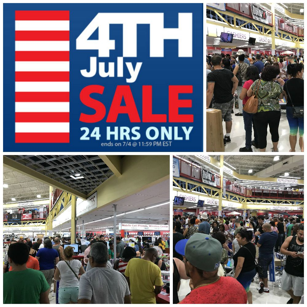 Last Chance To Come In And Check Out The Incredible Deals Shop Our 24 Hour Sale Brandsmart Usa 4th Of July Finan 4th Of July Sale The Incredibles