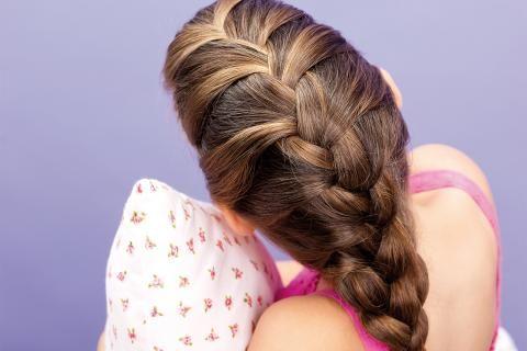 Haare Flechten So Flechtet Ihr Eine Herz Frisur Haare