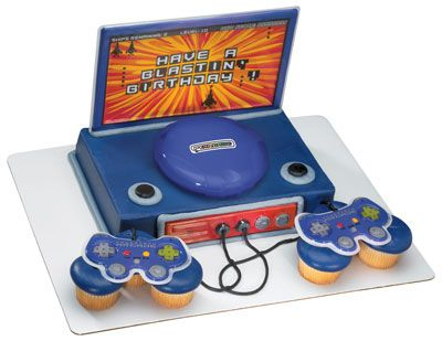 Video Game Birthday Cakes  Super Cool Video Game Cakes Food - Video game birthday cake