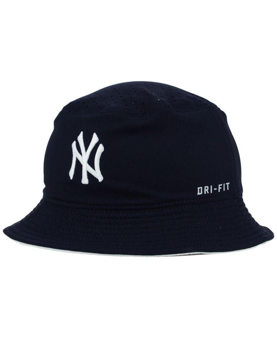 Nike New York Yankees Vapor Dri Fit Bucket Hat Dri Fit New York Yankees Bucket Hat