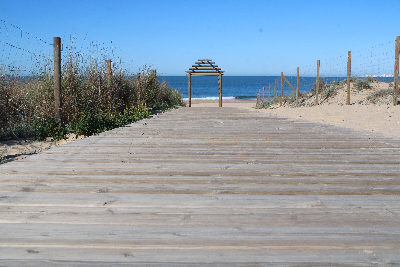 playa de las redes en El Puerto de Santa María