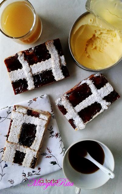 La Torta Margherita: LA crostata burrosa ai frutti rossi