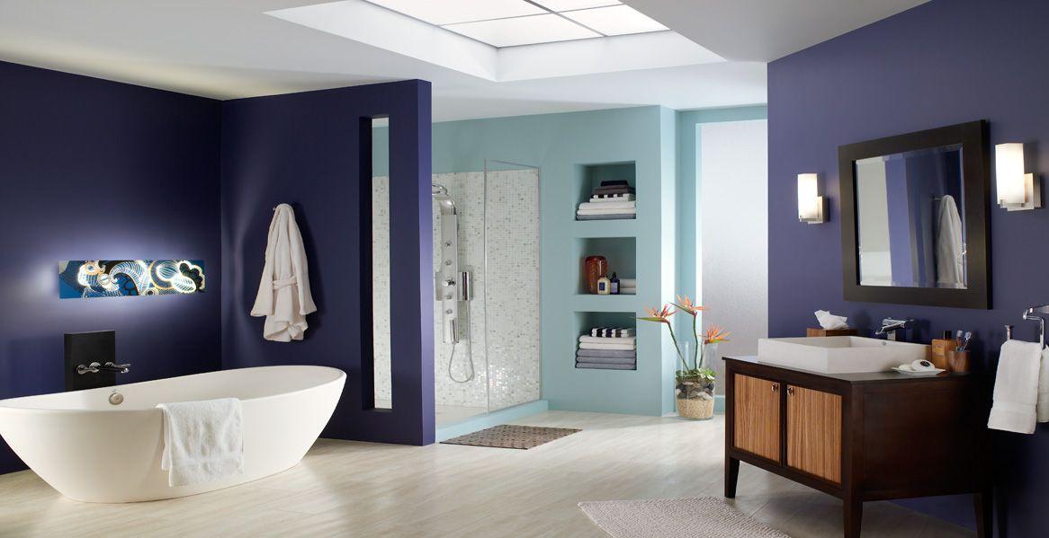 Bathroom Rooms Spaces Inspirations Behr Paint Color Bathroom Design Popular Bathroom Colors Bathroom Paint Colors