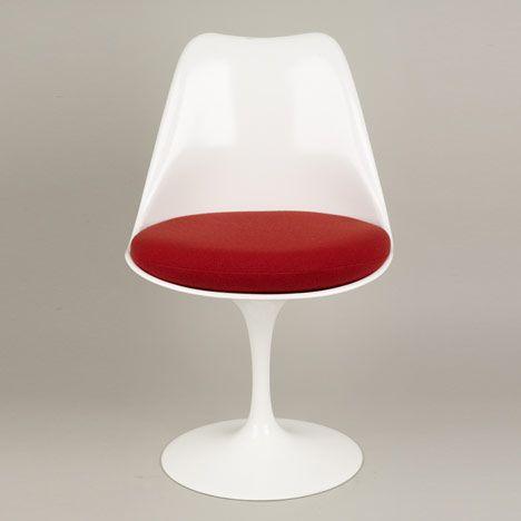 Tulip Chair 19551956 Plasticcoated cast aluminium moulded