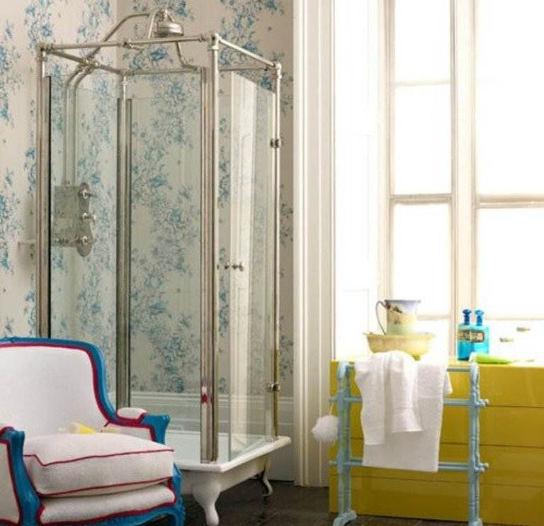 corner shower stalls for small bathrooms ideas | Cottage Bath ...