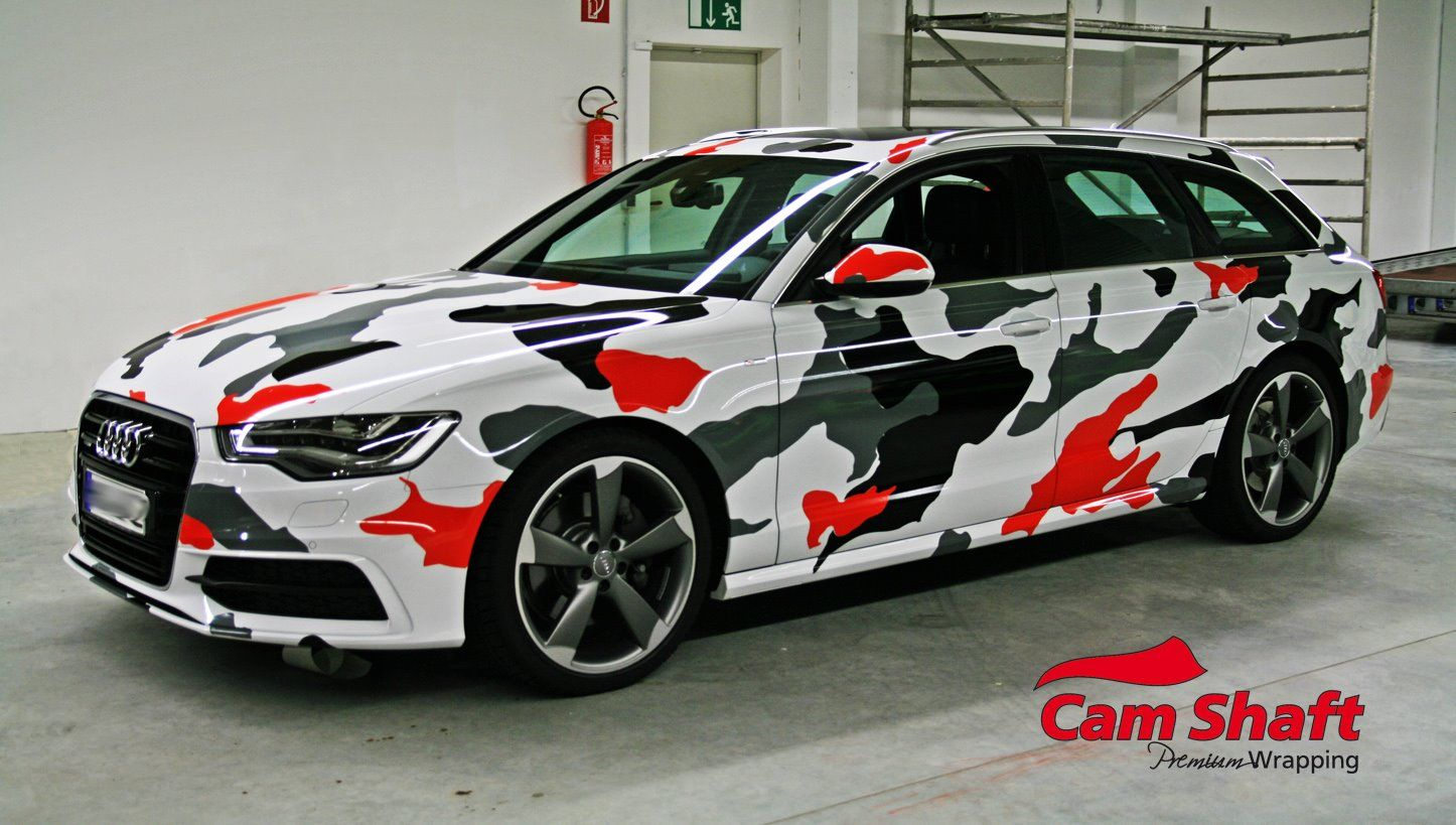 audi a4 koi camouflage car wrap pinterest rouleaux v hicules et inspiration. Black Bedroom Furniture Sets. Home Design Ideas