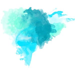 Teal blue watercolor art watercolor abstract for Pastel teal paint