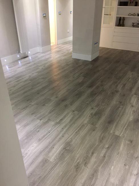 Amtico Grey Wood Flooring To Premises In South London Home Stuff