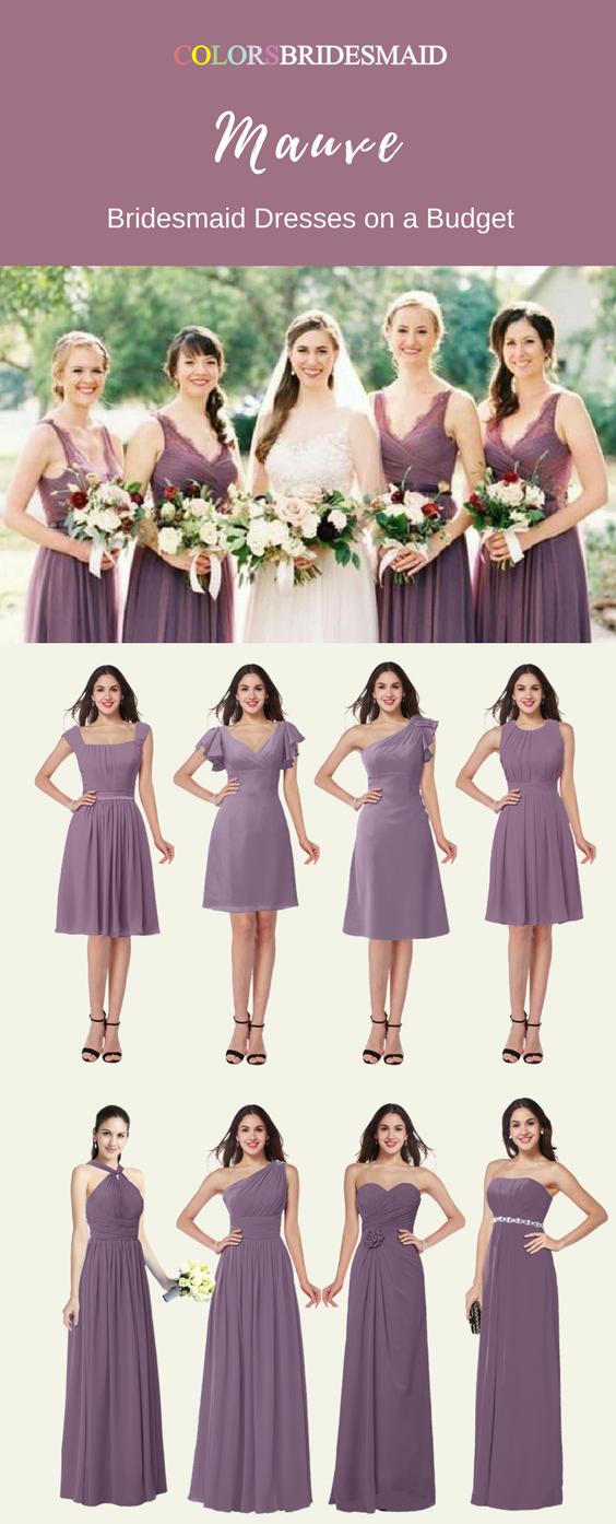 18++ Cheap mauve bridesmaid dresses trends