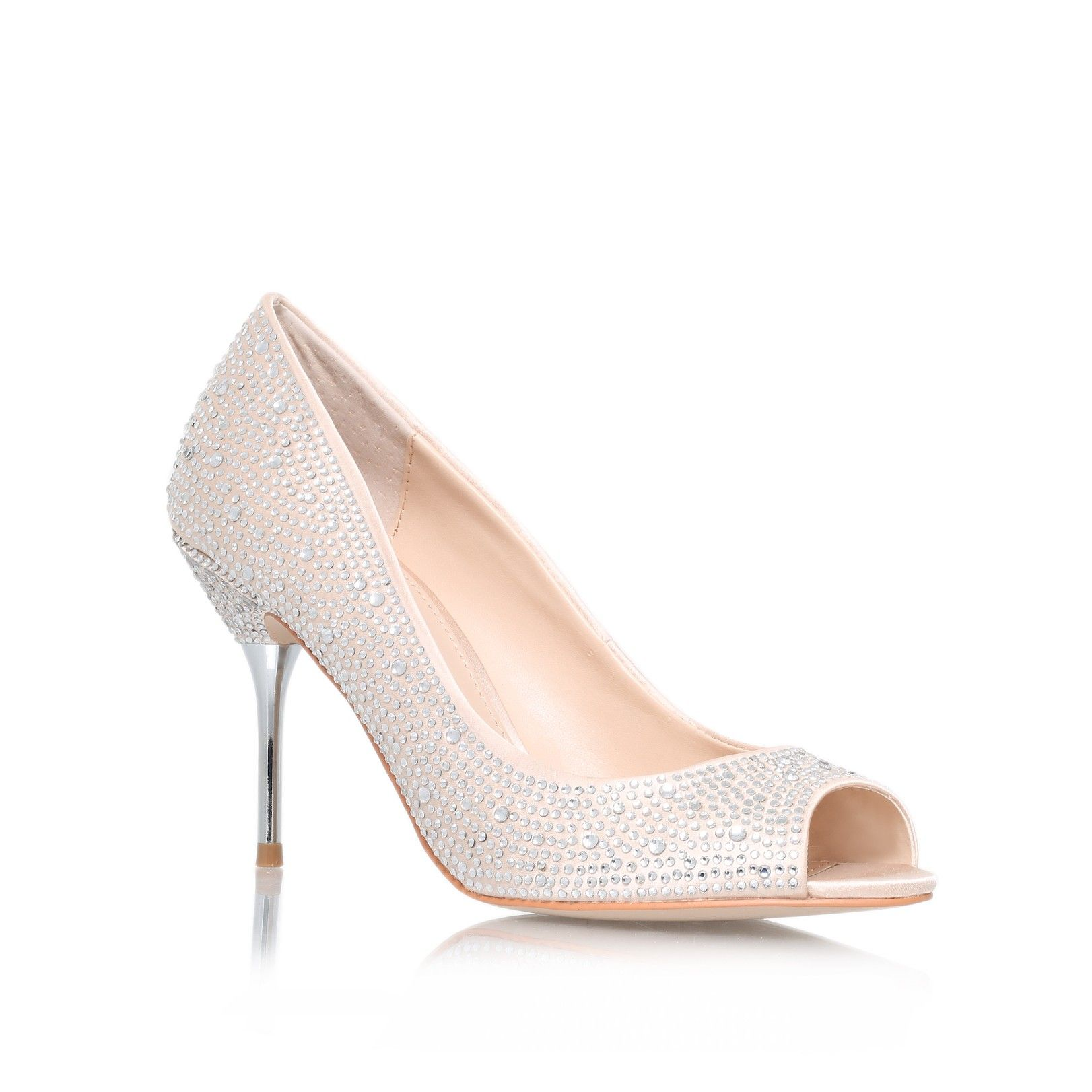 Grid Cream Shoe By Carvela Kurt Geiger Bridal Wedding Collection Shoes