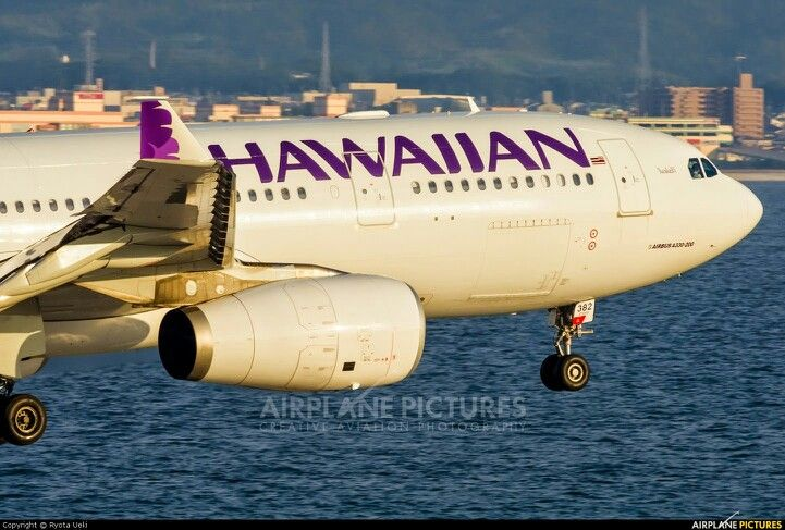 Hawaiian Airlines From HNL To Los Angeles (With images