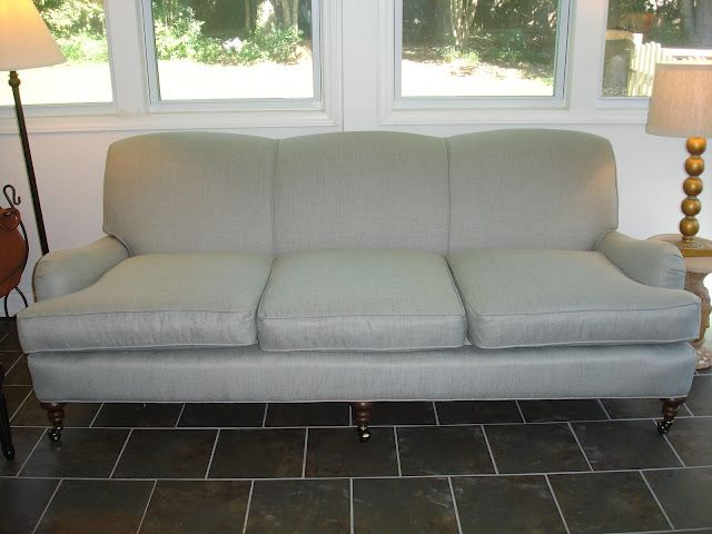 English Roll Arm Sofa Found On Craigslist And Recovered In A