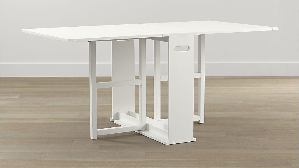 Shop Span White Gateleg Dining Table Designed By Mark Daniel