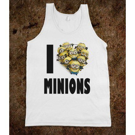 I HEART MINIONS - underlinedesigns ($29.99)
