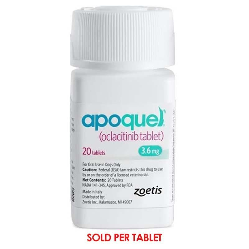 Apoquel Is Used To Treat And Control Itching And Inflammation In Dogs Resulting From A Variety Of Causes Including Fle Apoquel Dog Allergies Atopic Dermatitis