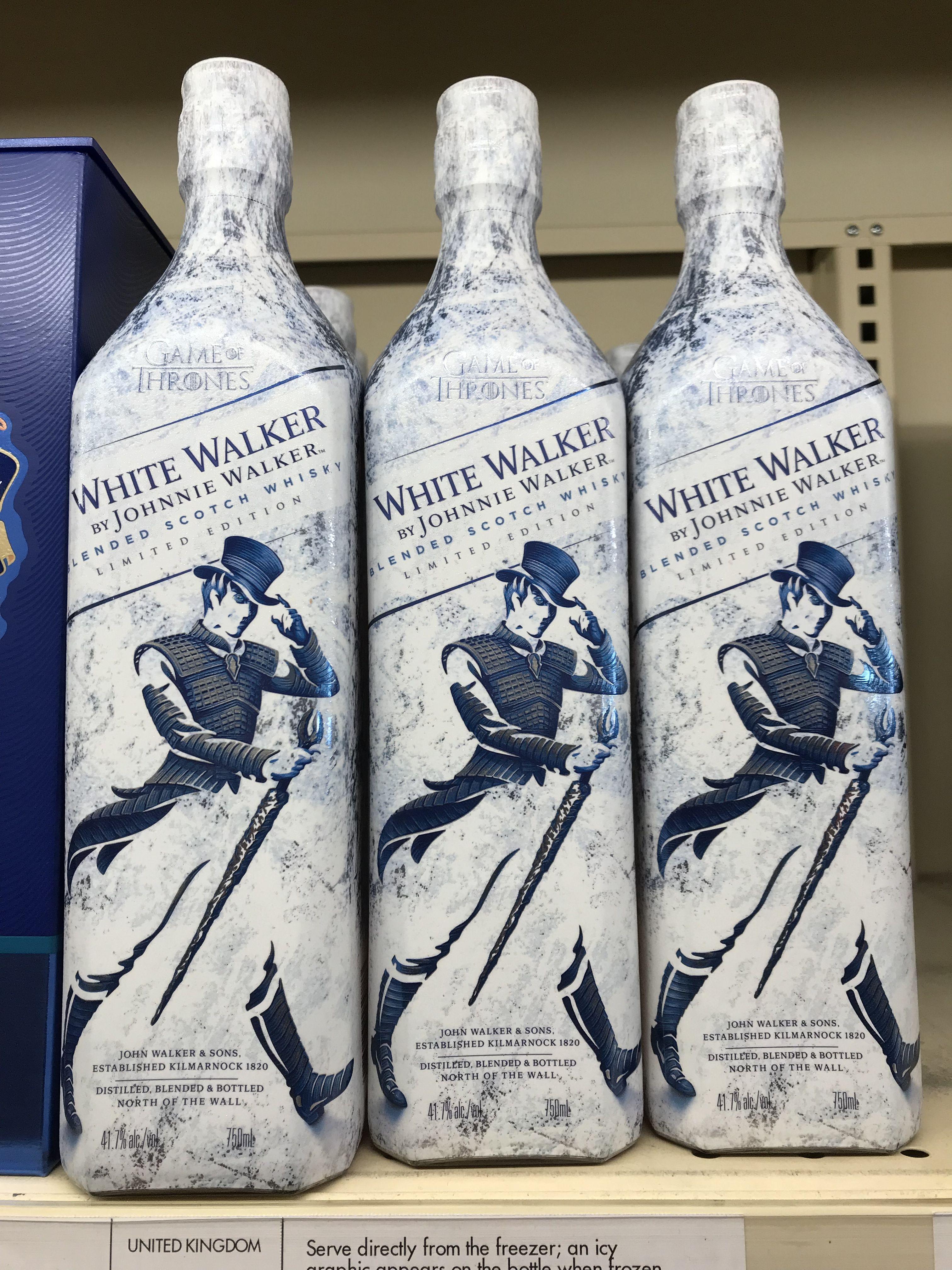 White Walker Limited Edition Johnnie Walker Cerveja
