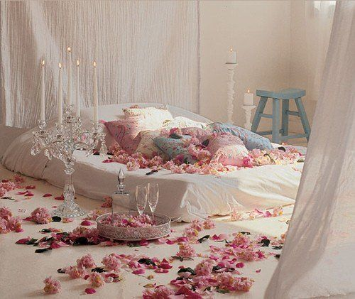 Bed of roses.