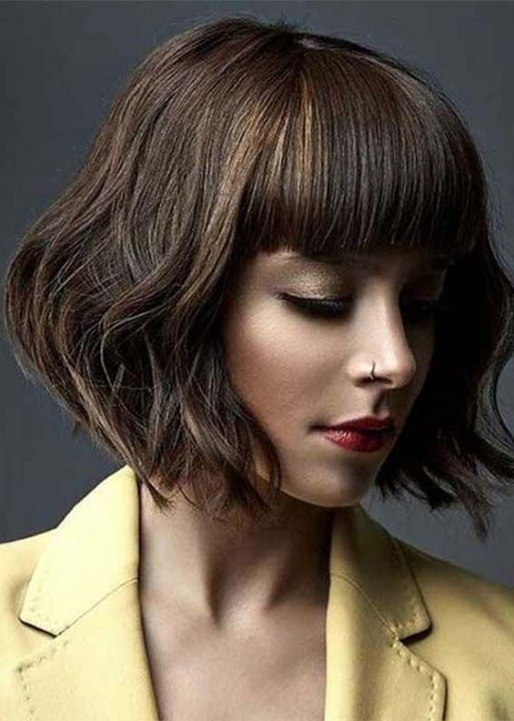 28 Sensational Short Bob Hairstyles & Haircuts for 2018   Modern bob hairstyles, Bob haircut ...