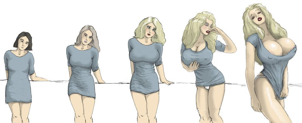 how to draw female breasts