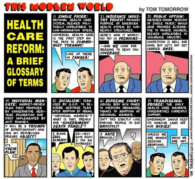 Health Care Reform Glossary Of Terms Health Insurance Mandate