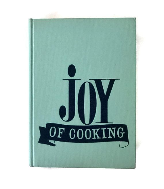 Vintage Cookbook 1972 Joy of Cooking Cookbook Irma Rombauer Recipe Book Vintage Kitchen Recipes Cook Book Household Hints Entertaining Ideas #cookingandhouseholdhints