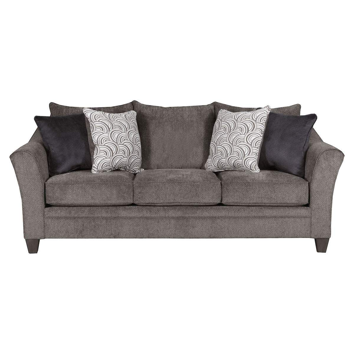 Surprising Albany Sofa In Pewter Jeromes Furniture Living Room In Ibusinesslaw Wood Chair Design Ideas Ibusinesslaworg