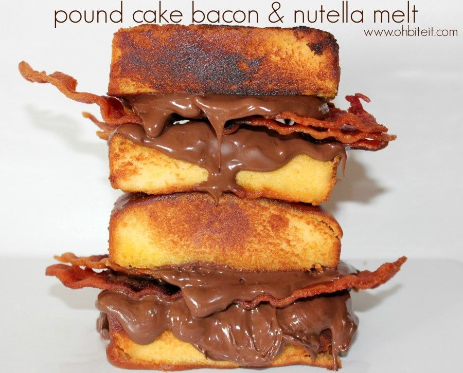 20 of the greatest food combinations of all time pound cakes pound cake bacon nutella 20 of the greatest food combinations of all forumfinder Images