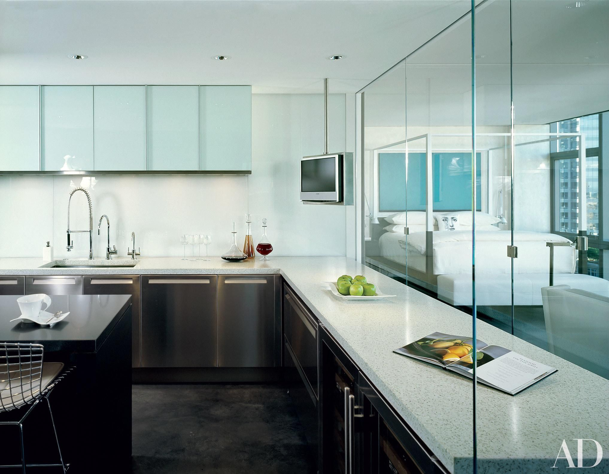 11 Stunning Minimalist Kitchens From The AD Archives   Minimalist ...