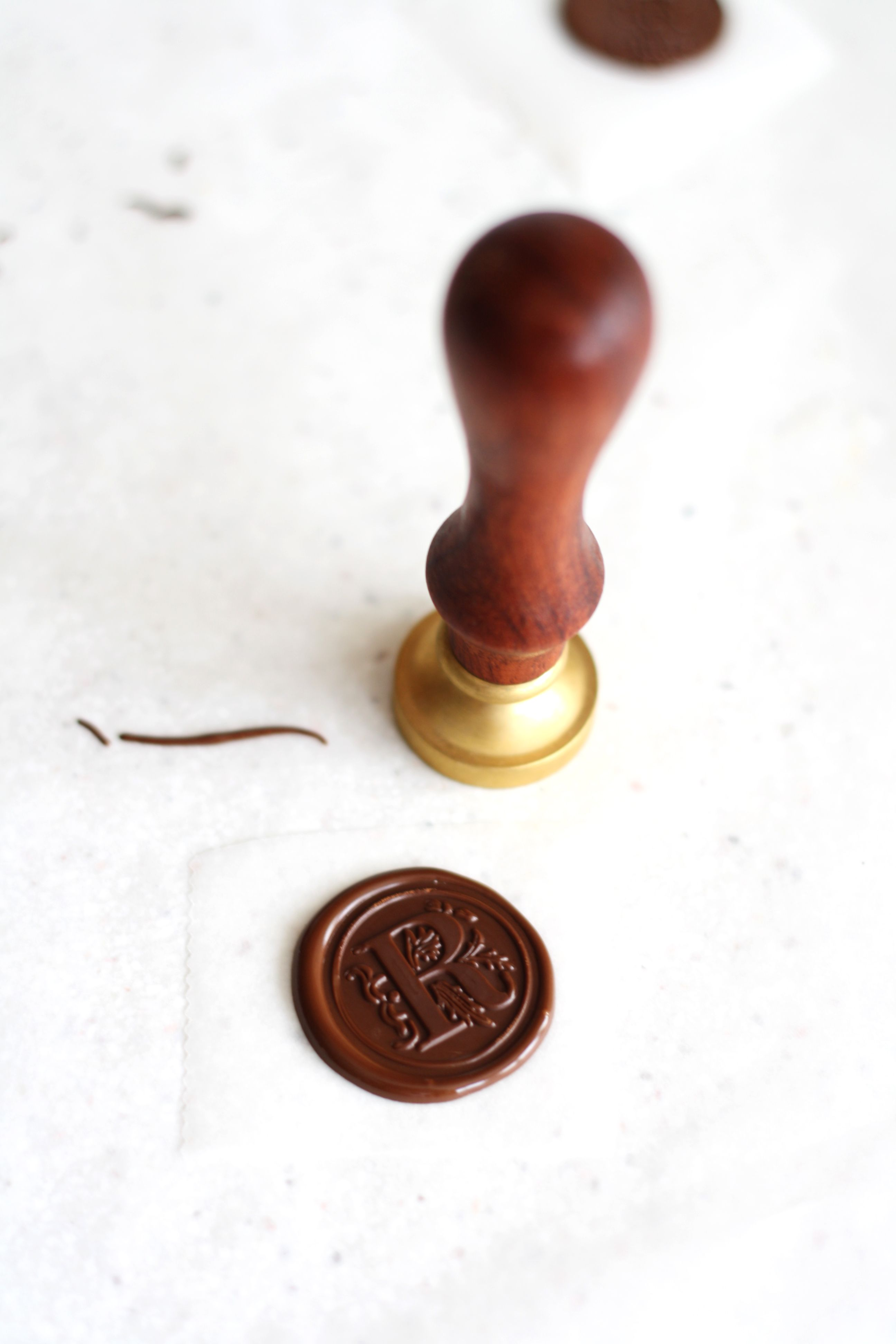 Wax seal for decoration 67