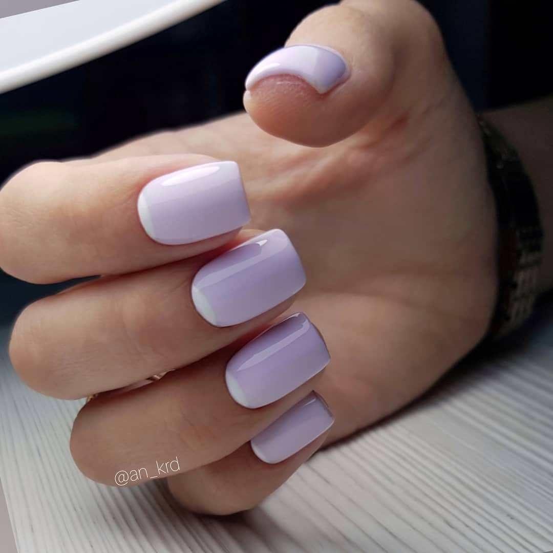 22 Simple & Pretty manicure ideas - nail polish ideas #nail #nails #nailart #mannicure