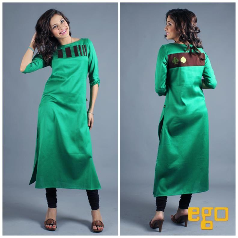 Casual Kurta Designs On Pinterest Semi Formal Wear Party Wear And Chiffon Dresses