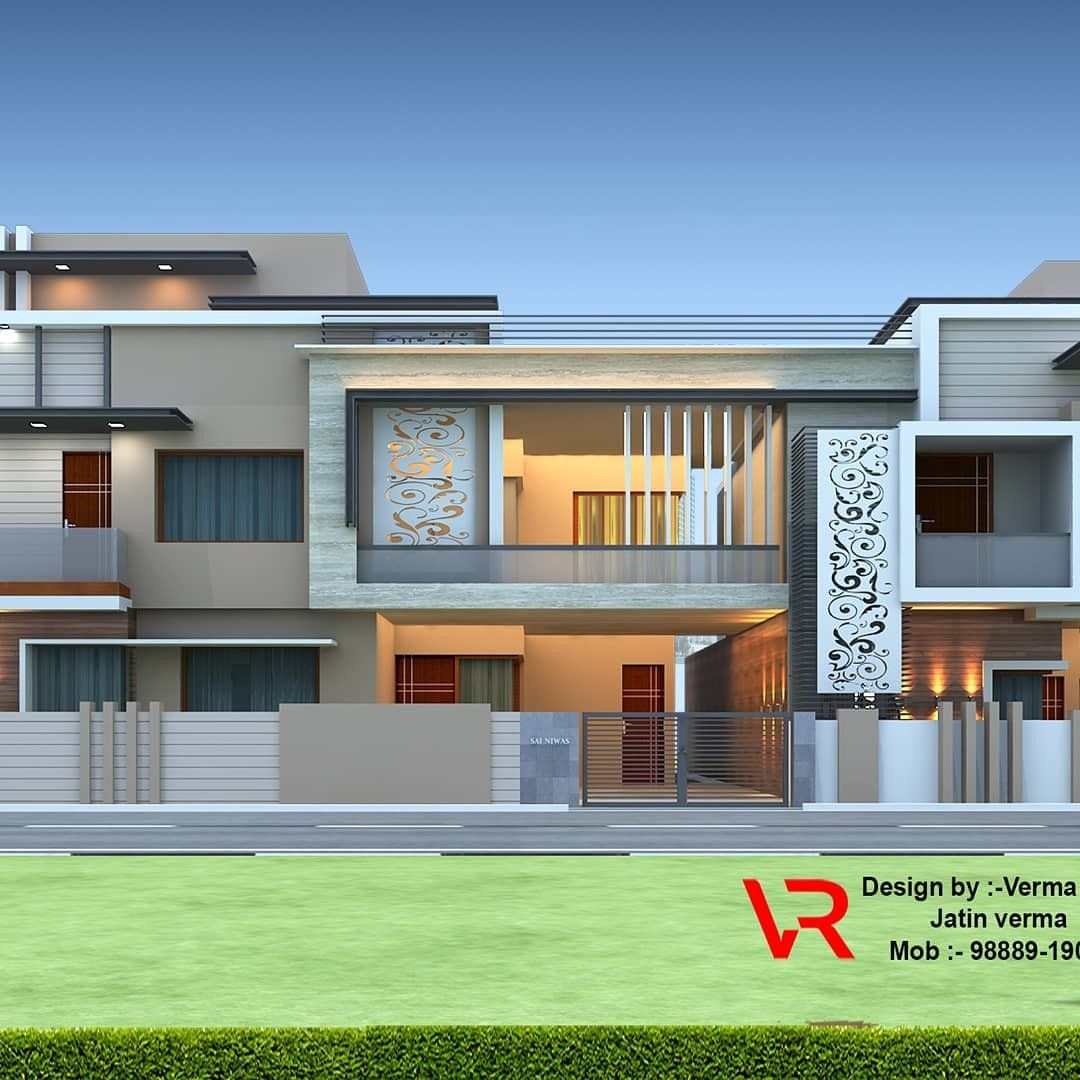 Pin By Libasse Diagne On Exterior Elevation Village House Design Unique House Design Small House Elevation Design