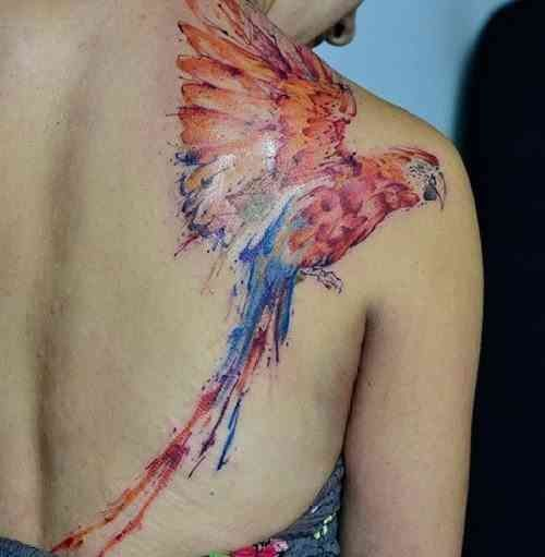 25 Jaw-Dropping Watercolor Tattoo Ideas You're Gonna Love #grandfathertattoo These ain't your grandfather's tattoos. The watercolor tattoo trend has transformed skin into colorful creations of walking art.  #tattoos #tattooideas #tattoodesigns #watercolor #grandfathertattoo 25 Jaw-Dropping Watercolor Tattoo Ideas You're Gonna Love #grandfathertattoo These ain't your grandfather's tattoos. The watercolor tattoo trend has transformed skin into colorful creations of walking art.  #tattoos #tattooid #grandfathertattoo