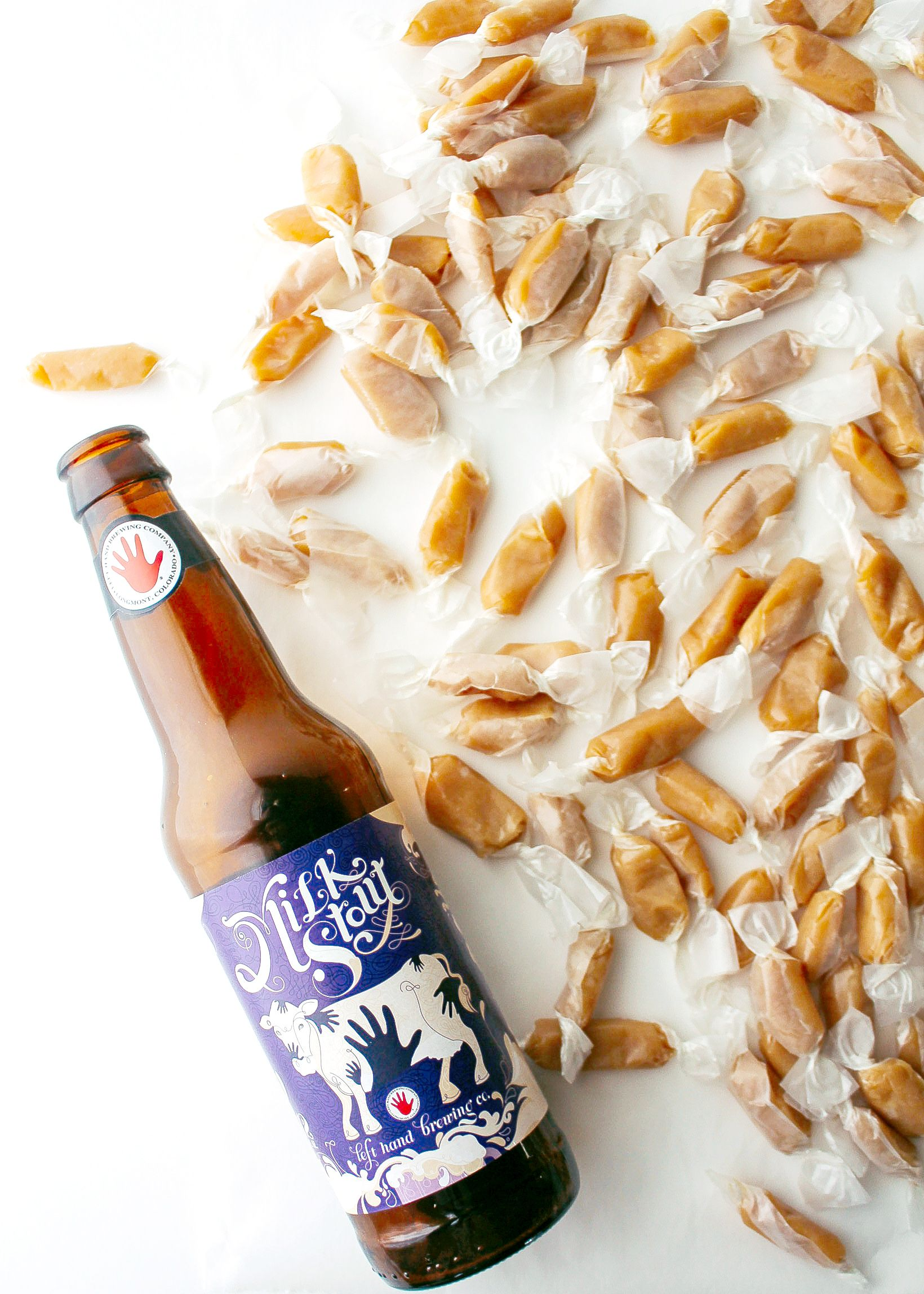 Milk Stout & SeaSalt Caramels Recipe in 2020 Sea salt