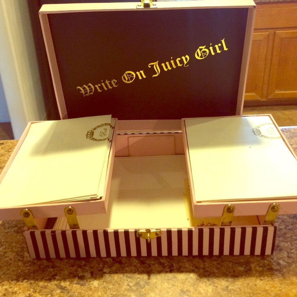 Juicy Couture Stationary Set In 2019